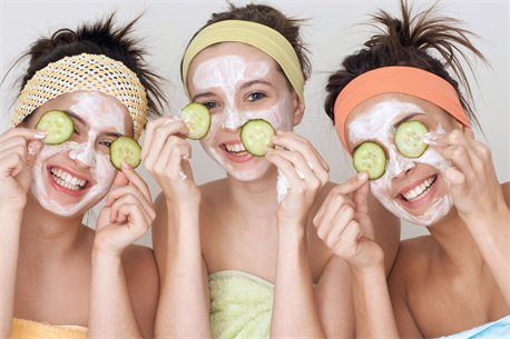 facial Teenage girls